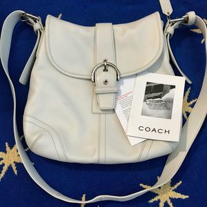 Coach leather Soho Duffle Flap bag #9480